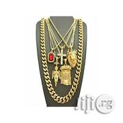 Universal 5 Piece Necklace Pendant Set - Gold | Jewelry for sale in Lagos State, Surulere