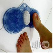 Foot Cleaner With Pumice Pumice Exfoliates - Shower Bath Aid Foot Massage | Massagers for sale in Oyo State, Egbeda