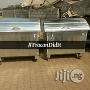 AEPB Approved Galvanised Waste Bin . Free Delivery Within Abuja | Home Accessories for sale in Abuja (FCT) State, Galadimawa
