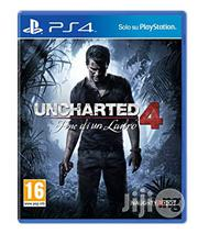 Ucharted 4 A Thief End PS4 Game CD | Video Games for sale in Lagos State, Ikeja