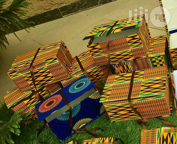 Archive: Ankara Gift Box (5 By 7.5inches, 3.5inches High)