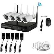 4channel Wireless IP Network Camera Kit With Mobile App | Security & Surveillance for sale in Lagos State, Ikeja