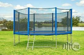 Standard Trampoline Bouncer With Protection Net And Accessories