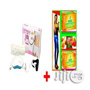 Electric Slimming Belt Massager + Almond Slimming Tea | Massagers for sale in Oyo State, Egbeda