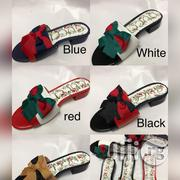 Ribbon Design Gucci Slippers | Shoes for sale in Lagos State, Ikoyi