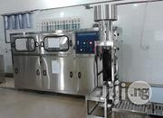 Jar Bottle Washing Filling And Capping Machine 19 Litre 5 Gallon | Manufacturing Equipment for sale in Lagos State, Ojo