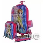 Frozen Kids Trolley Bag Lunch Box Pencil Case | Babies & Kids Accessories for sale in Lagos State, Lagos Island