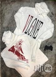 Vlone X Clot Dragon Hoodie (White) | Clothing for sale in Abuja (FCT) State, Asokoro