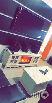 Executive Fire Frame TV Stand With Remote Control System | Furniture for sale in Lagos State, Lekki Phase 1