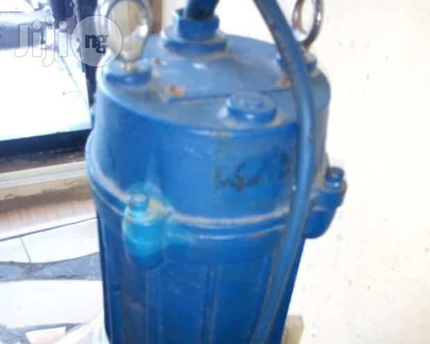 """Archive: 3"""" 5hp Industrial Submersible Pump"""