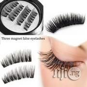 MAGNETIC Eyelashes Natural No-Glue Eye Lashes Extension | Makeup for sale in Lagos State, Lagos Mainland