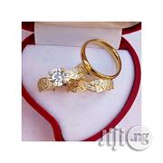 Fashion Fashion Luxury Gold Plated Wedding Ring | Wedding Wear for sale in Lagos State, Surulere