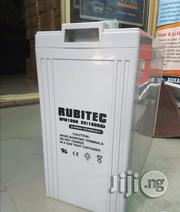 Rubitech 200AH/2V Slim F.A.T Battery | Electrical Equipment for sale in Lagos State, Ikeja
