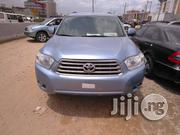 Toyota Highlander 2009 Blue | Cars for sale in Lagos State, Isolo