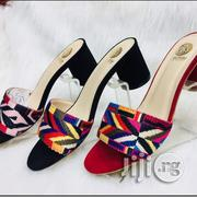 Versace Women Quality Slippers 2.5 Inches Block Heel   Shoes for sale in Lagos State, Lagos Island
