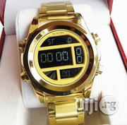 Nixon Gold Digital Watch | Watches for sale in Lagos State, Surulere