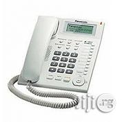 Panasonic Single Line Corded Phone - White | Home Appliances for sale in Lagos State, Ikeja
