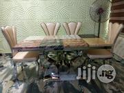 Marble Dining Table Plus 6 Chairs Y-leg | Furniture for sale in Abuja (FCT) State, Nyanya