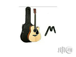 Acoustic Box Guitar With Bag and Strap