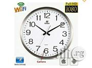 Wall Clock Wifi 1080p Hidden Surveillance IP Camera& Smartphone Access | Security & Surveillance for sale in Abuja (FCT) State, Gwagwalada