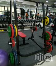 Squat Rack With 100 Kg Weight   Sports Equipment for sale in Abuja (FCT) State, Wuse 2