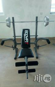 Weight Bench Home Use With 50kg Weight | Sports Equipment for sale in Abuja (FCT) State, Garki 1