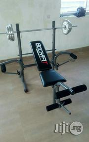 Weight Lifting Bench With 50 Kg | Sports Equipment for sale in Cross River State, Calabar