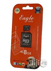 Eagle 8GB Memory Card | Accessories for Mobile Phones & Tablets for sale in Lagos State, Ikeja