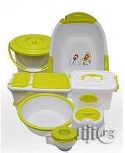 Lemon And White Mothercare Bath Set | Baby & Child Care for sale in Lagos State, Oshodi-Isolo