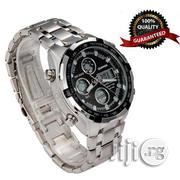 Executive Waterproof Analogue And Digital LED Chain Watch | Watches for sale in Lagos State, Yaba