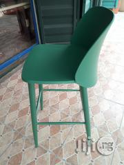 Exotic Unique Strong Iron Leg and Plastic Sit Bar Stools Brand New | Furniture for sale in Lagos State, Ajah