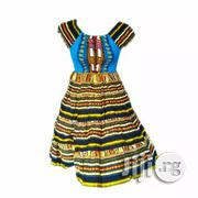 African Print Midi Dress - Multicolour | Clothing for sale in Lagos State, Lagos Island