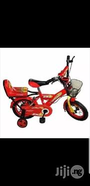 Children's Bicycle With Training Wheels - Red - 12-inch | Toys for sale in Lagos State, Lagos Island