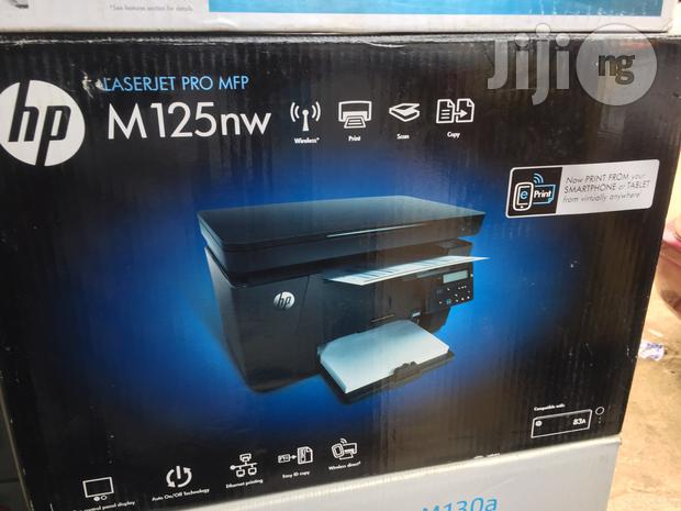 HP Laserjet M125nw Printer