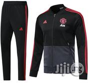 Manchester United Stadium Prematch Training Tracksuit 18/2019 | Clothing for sale in Lagos State, Lagos Mainland