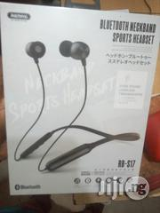 Remax Sport Bluetooth Headset Rb S17 | Headphones for sale in Lagos State, Ikeja