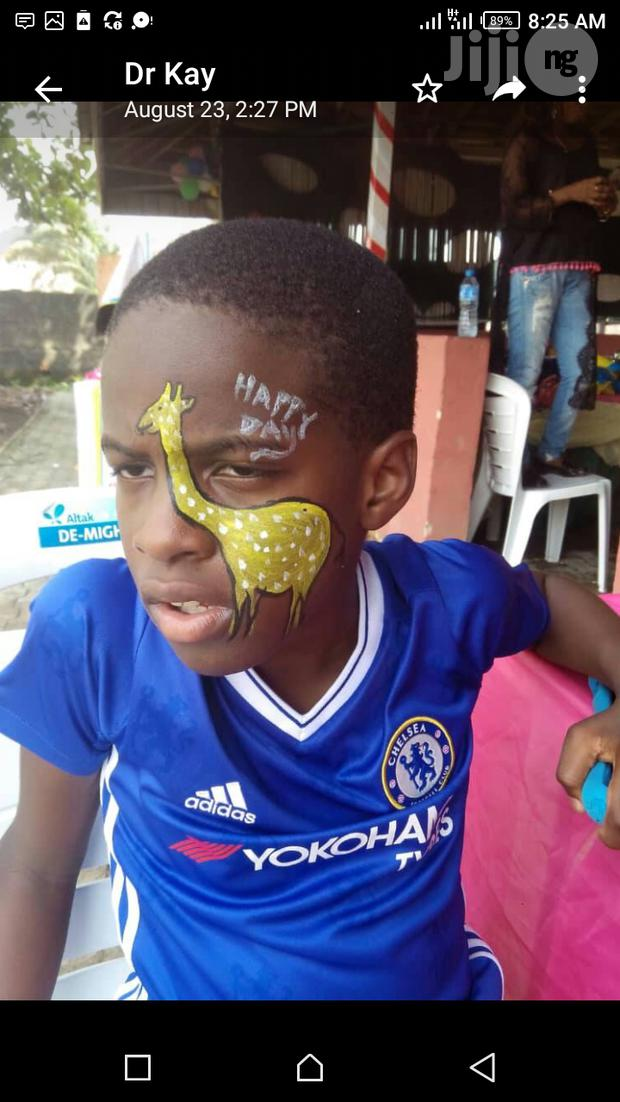 Face Painting For 50 Kiddies