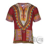 African Print Traditional Danshiki - Brown | Clothing for sale in Lagos State, Lagos Island