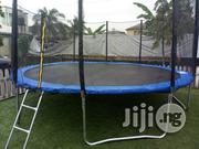 Brand New 15ft Trampoline Bouncer With Ladder | Children's Gear & Safety for sale in Rivers State, Port-Harcourt
