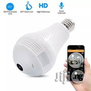 1080P(2.0 MP)Bulb Led VR Wifi Camera, Build-in 360 Degree   Security & Surveillance for sale in Lagos State, Ikeja