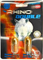 Rhino Double (2 Pills) | Vitamins & Supplements for sale in Lagos State, Alimosho