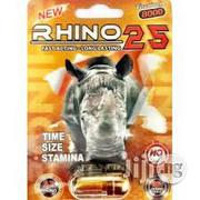 Rhino 25 2 Pills | Vitamins & Supplements for sale in Lagos State, Lagos Mainland