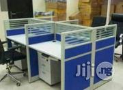 Modern 4-man Office Workstation Table | Furniture for sale in Lagos State, Isolo