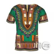 African Print Traditional Danshiki - Green | Clothing for sale in Lagos State, Lagos Island
