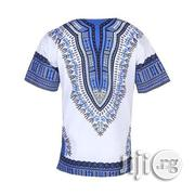African Print Traditional Danshiki - White | Clothing for sale in Lagos State, Lagos Island