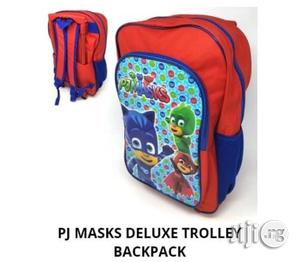 Pj Mask Backpack And Trolley