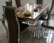 Exotic Imported Six Seater Marble Dining Table | Furniture for sale in Lagos State, Ajah