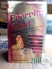 Evervite Gold Multivitamins and Minerals Capsules Original | Vitamins & Supplements for sale in Lagos State, Ilupeju