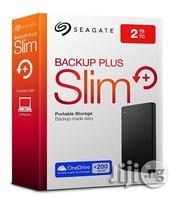 Seagate Backup Plus Slim 2TB Portable External Hard Drive | Computer Hardware for sale in Lagos State, Ikeja