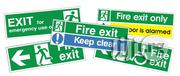 Fire Exit Signs | Safety Equipment for sale in Lagos State, Agboyi/Ketu